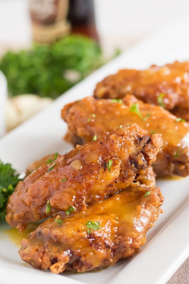 Spicy Pineapple and Mango Wings Recipe
