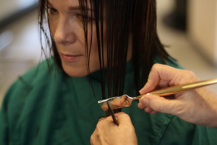 Mehr Volumen fr meine Haare Calligraphy Cut  Lady of Style