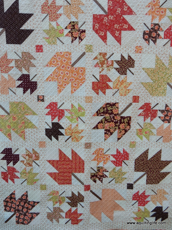 Maple Sky | New Quilt Pattern | A Quilting Life - a quilt blog : maple leaf quilt patterns - Adamdwight.com