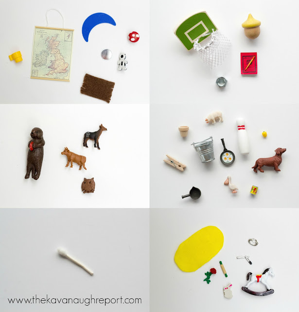 Montessori language objects are concrete ways to teach children to read. Here are some ideas on where to find these objects and how to use them.