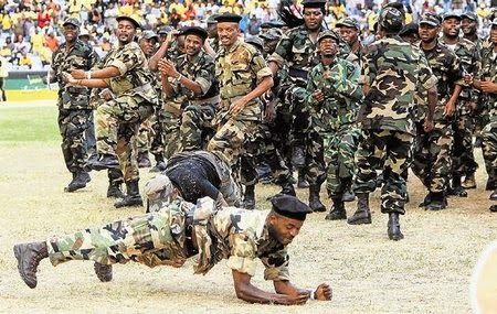 What a Difference Twenty Years have made - The South African Army Then ...