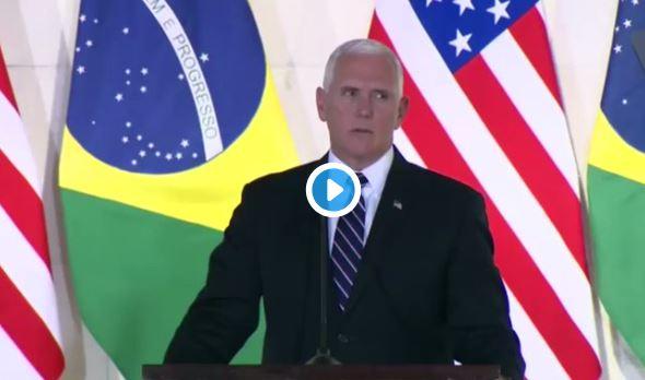 Vicepresidente de Estados Unidos donó 10 millones de dólares para venezolanos refugiados