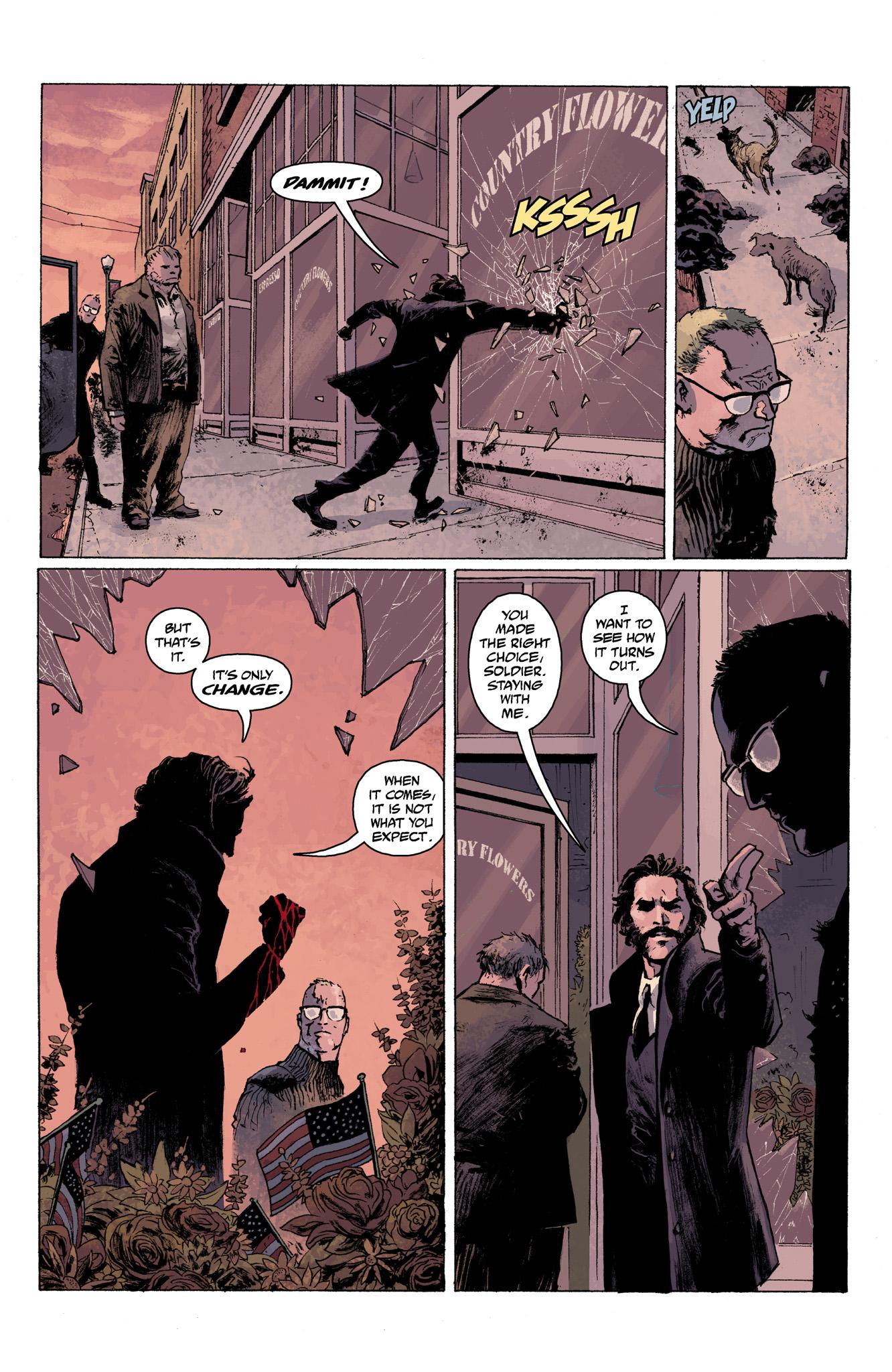 Read online Abe Sapien comic -  Issue #6 - 23