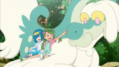 Pokémon Sol y Luna Ultra Aventuras Capitulo 16 Temporada 21 Probando lo dulce con lo agrio