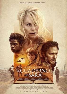 El cuaderno de Sara 2018 DVD R2 PAL Spanish