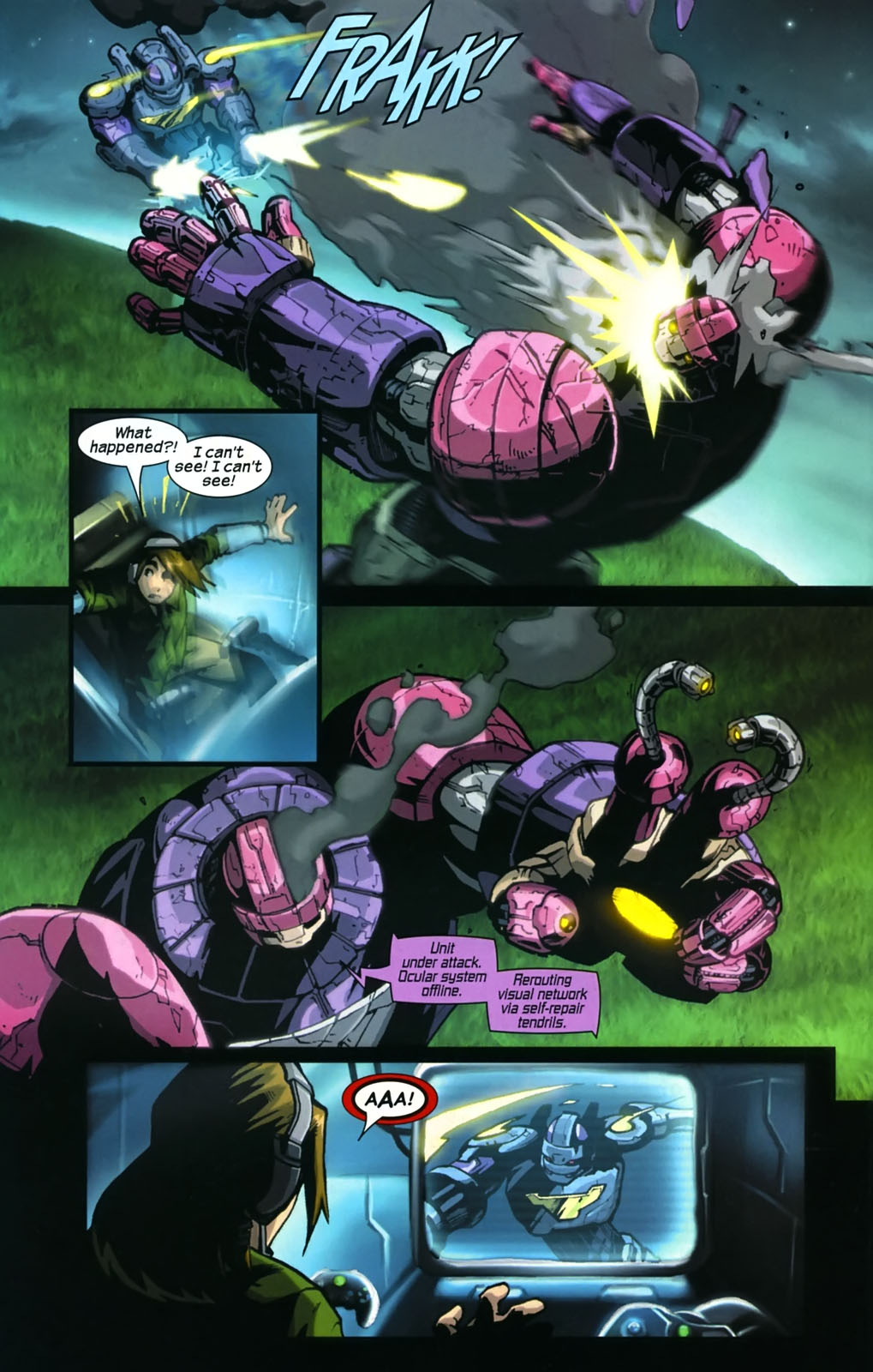 Read online Sentinel (2006) comic -  Issue #4 - 18