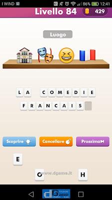 Emoji Quiz soluzione livello 84