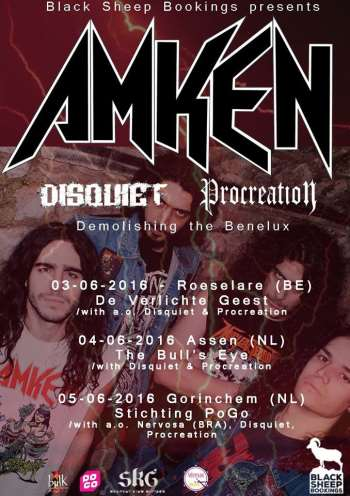 Amken - Demolishing the Benelux Tour 2016