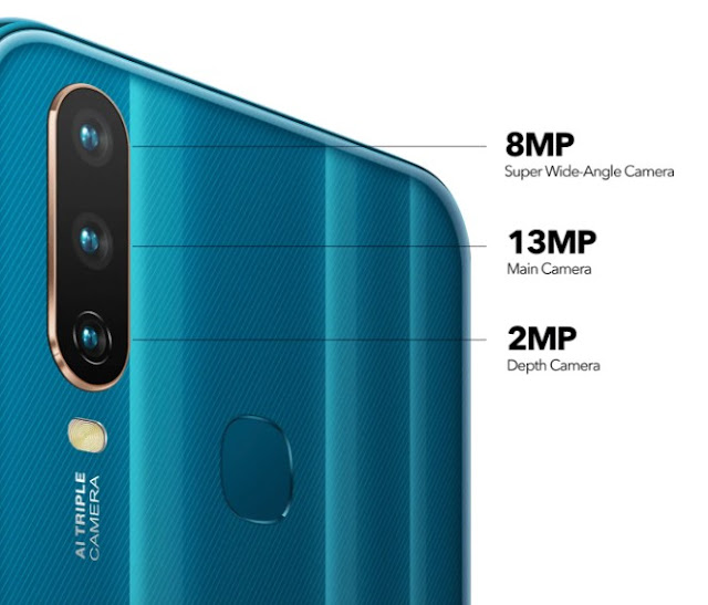 Vivo Y17 triple back cameras t2update.com