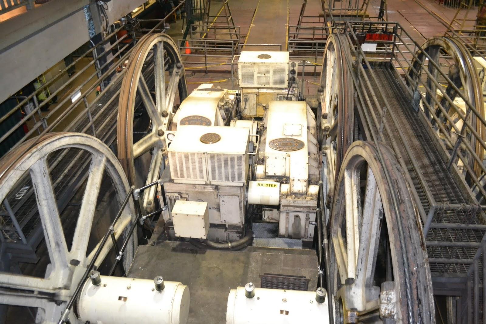 Музей Канатных Трамваев, Сан-Франциско, Калифорния. (Cable Car Museum, San Francisco, CA)