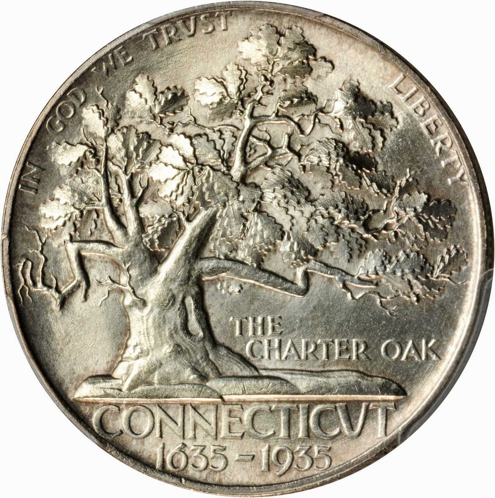 Connecticut Tercentenary Half Dollar