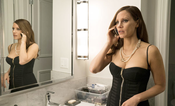 Jessica Chastain plays Molly Bloom in MOLLY'S GAME (2017)