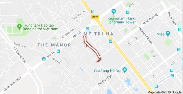 Chung cư Mễ Trì Hạ ở đâu tại Hà Nội