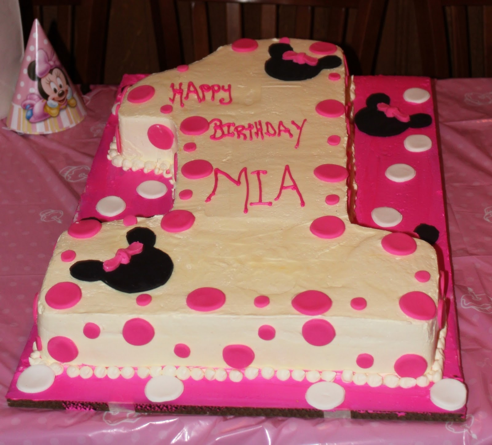 A Southern Belle From New Jersey: A Very Minnie 1st Birthday
