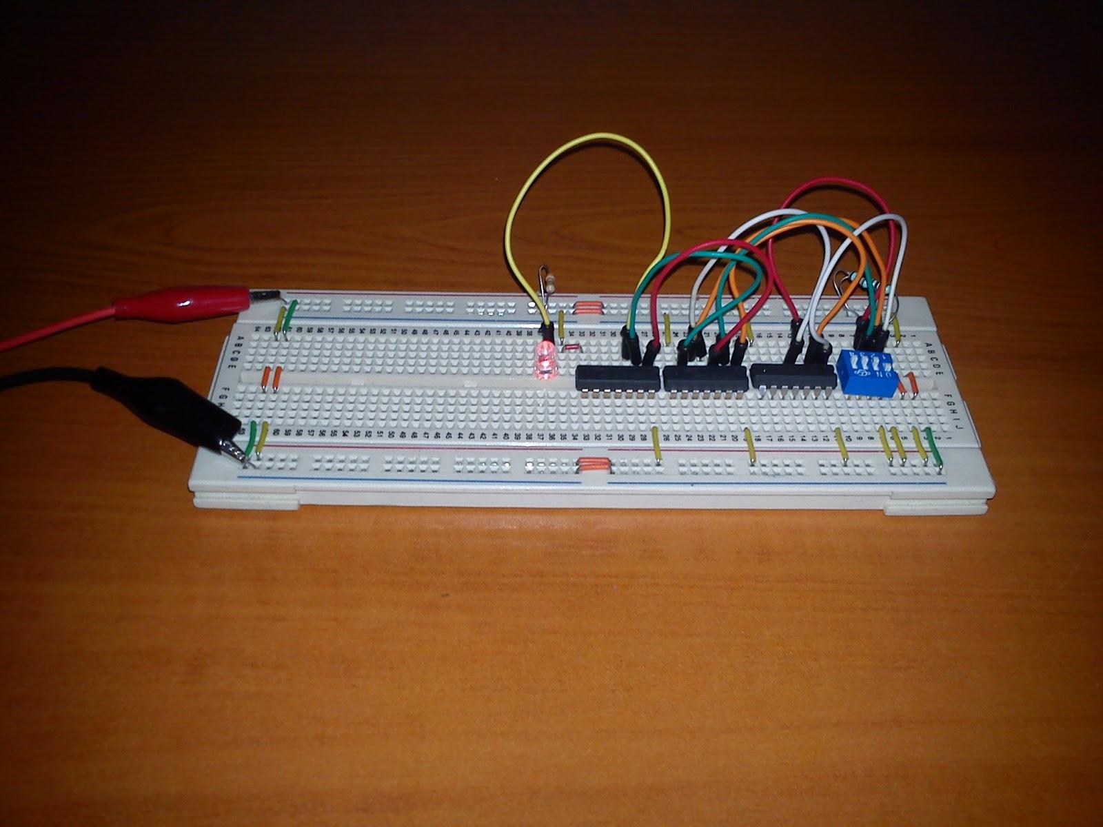 Circuito Xnor : Super digitalízame experimentación con compuertas lógicas