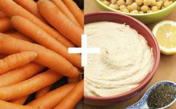 Cà rốt với bột đậu xanh