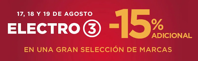 Top 15 ofertas Super Electro 3 (III) de El Corte Inglés