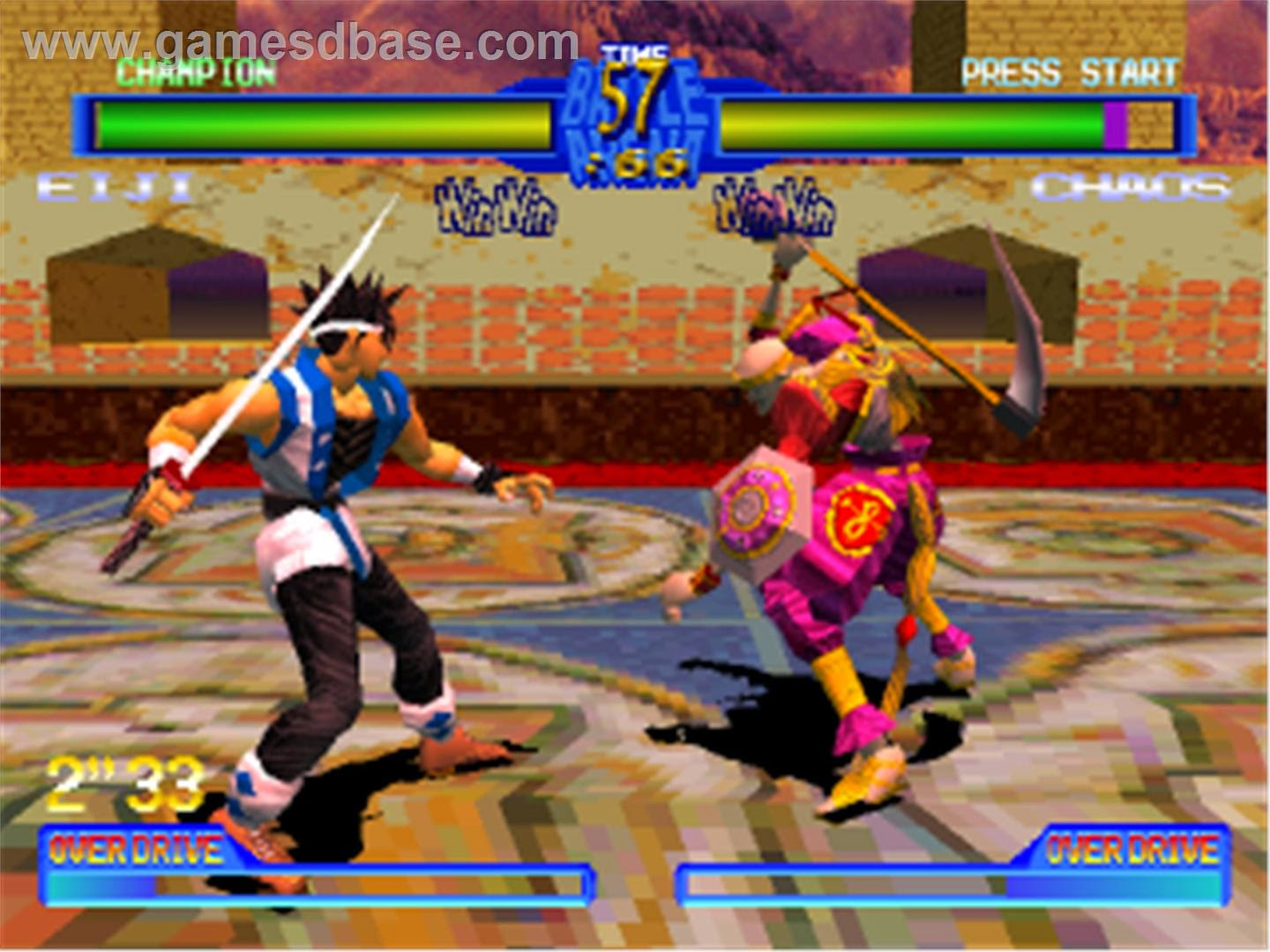 Nay S Game Reviews Fighters Month Battle Arena Toshinden 2