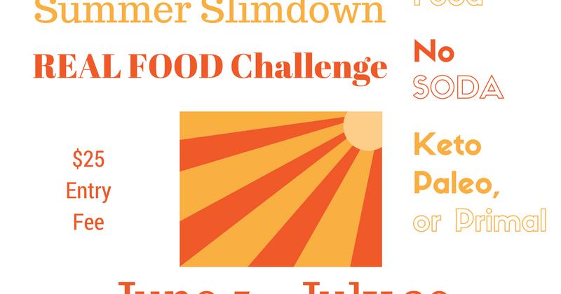 Summer Slimdown Challenge starts June 5!