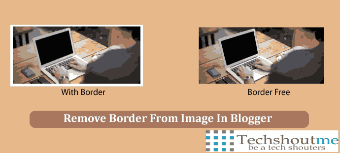 Remove image Border From Blogger
