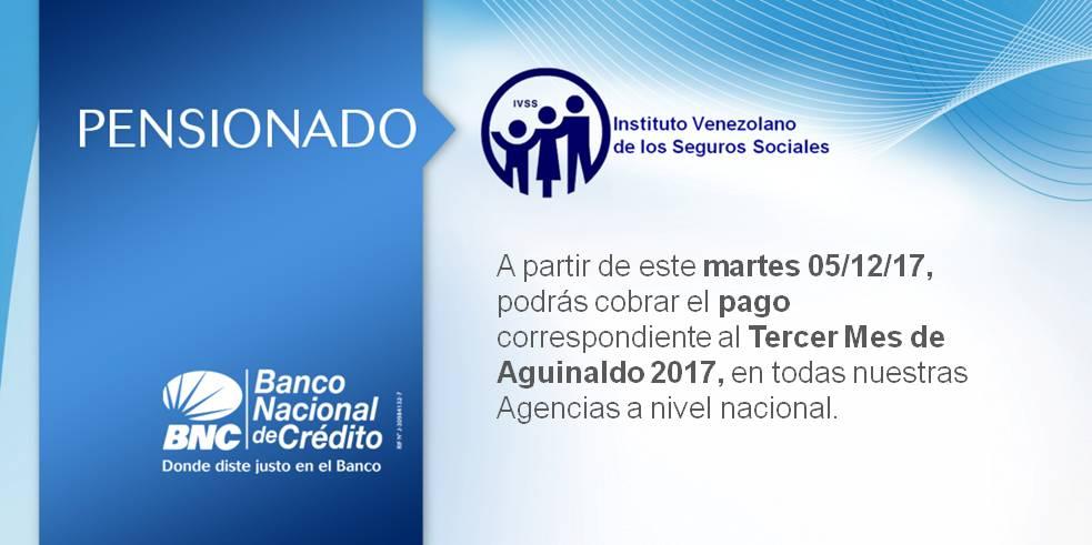 Cumpliendo con nuestros pensionados de la patria el martes 5 de diciembre se hace efectivo el pago de pensiones #IVSS ¡Corre la Voz!