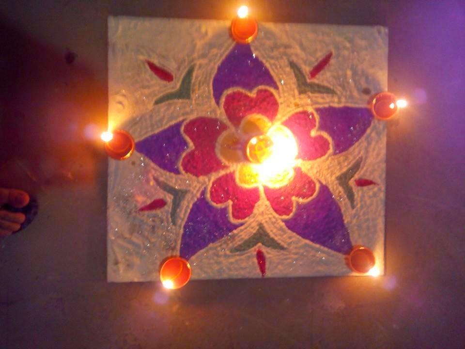 Kolam for Diwali 9