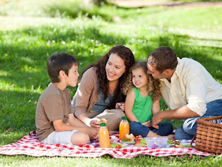 Summer Picnic with the Family