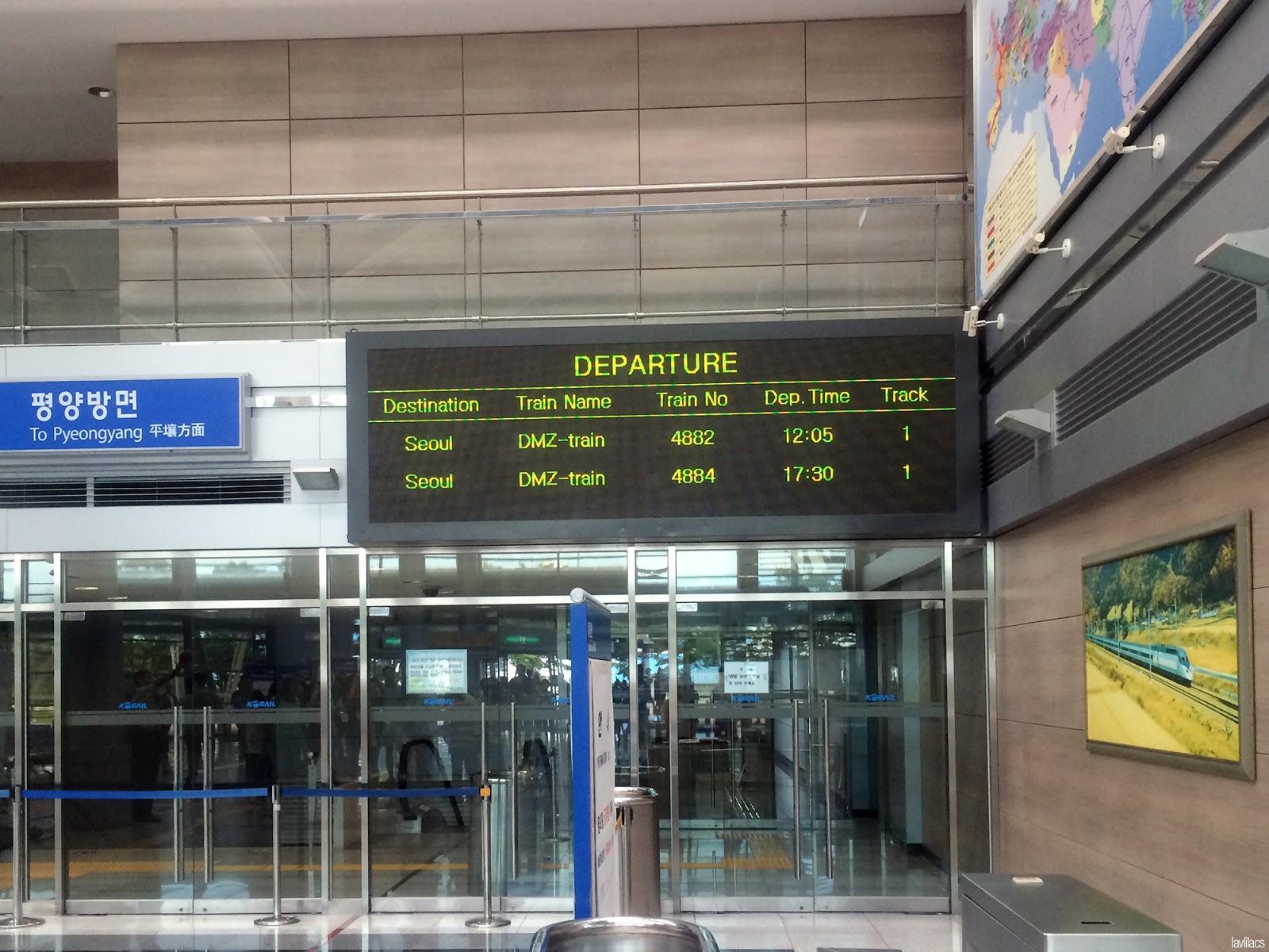 Seoul, Korea - Summer Study Abroad 2014 - Korail Interconnected Gyeongui Railroad Line station