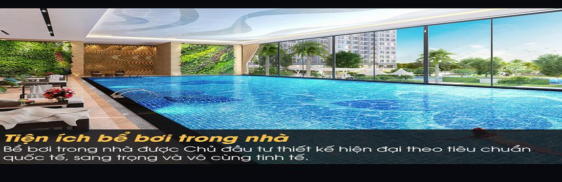 Bể bơi bốn mùa tại chung cư giá rẻ Eurowindow River Park
