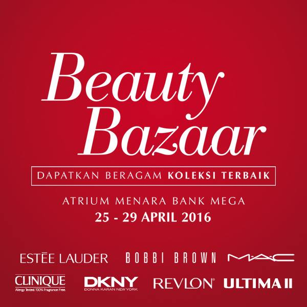 Metro Department Store Promo Beauty Bazzar Di Menara Bank Mega