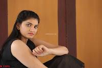 Khanishka new telugu actress in Black Dress Spicy Pics 08.JPG