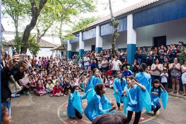 Ovos de Páscoa nas escolas de Iguape