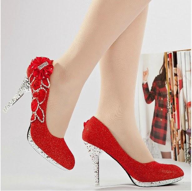 zapatos de novia rojos ¡bellas tendencias con imágenes! | somos novias