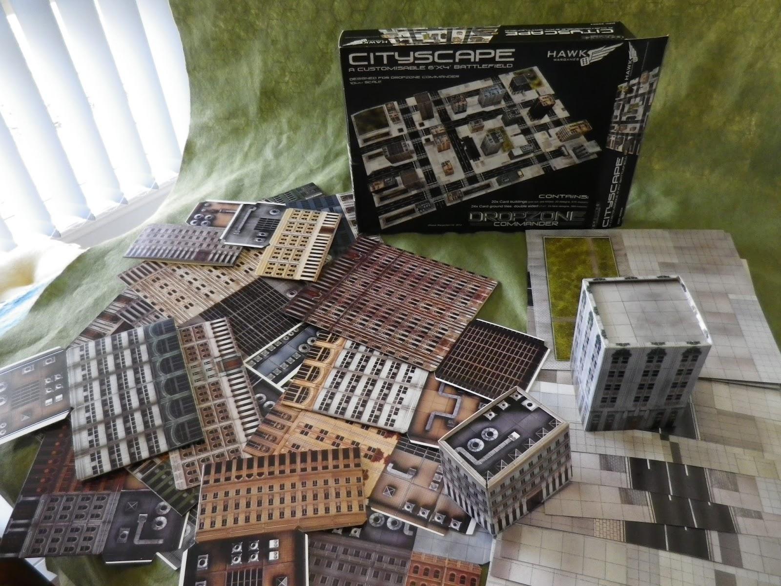 Delta Vector: Cheap Cardboard Wargames Terrain for 10mm