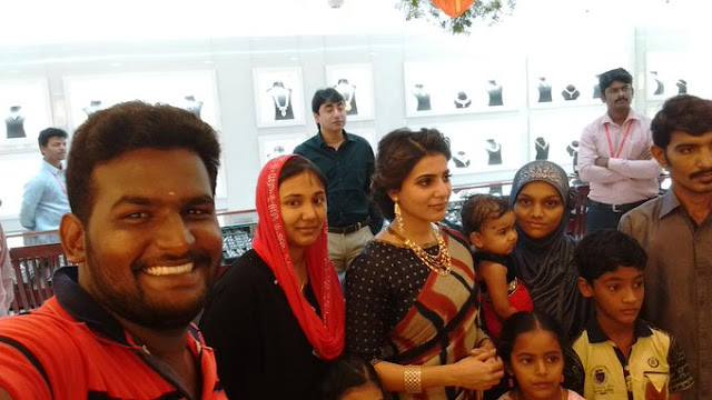 Samantha at jewel One showroom salem