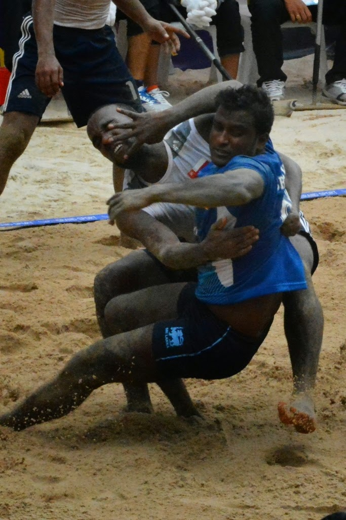 Asian Games Phuket Kabaddi fight