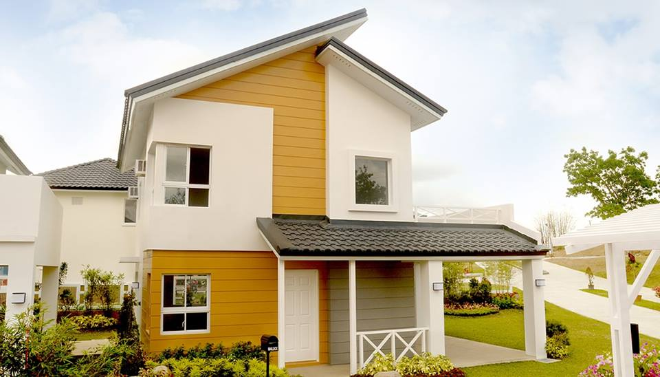 50 custom home designs of elegant two story house photos for Pictures of two story houses in the philippines
