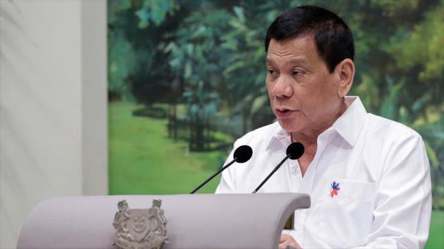 Presidente de Filipinas: Quemaré la ONU si voy a EEUU