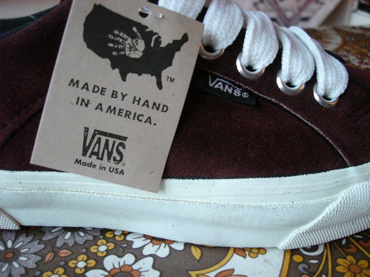 e3fdd527cac66 theothersideofthepillow: vintage VANS prune suede LAMPIN style #86 ...