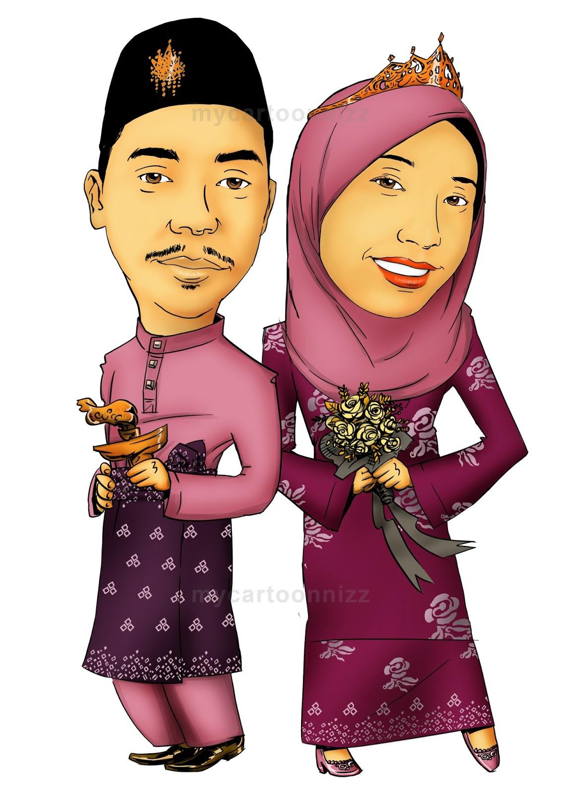 mycartoonnizz Norasyiqin Baharuddin Kemaman Terengganu