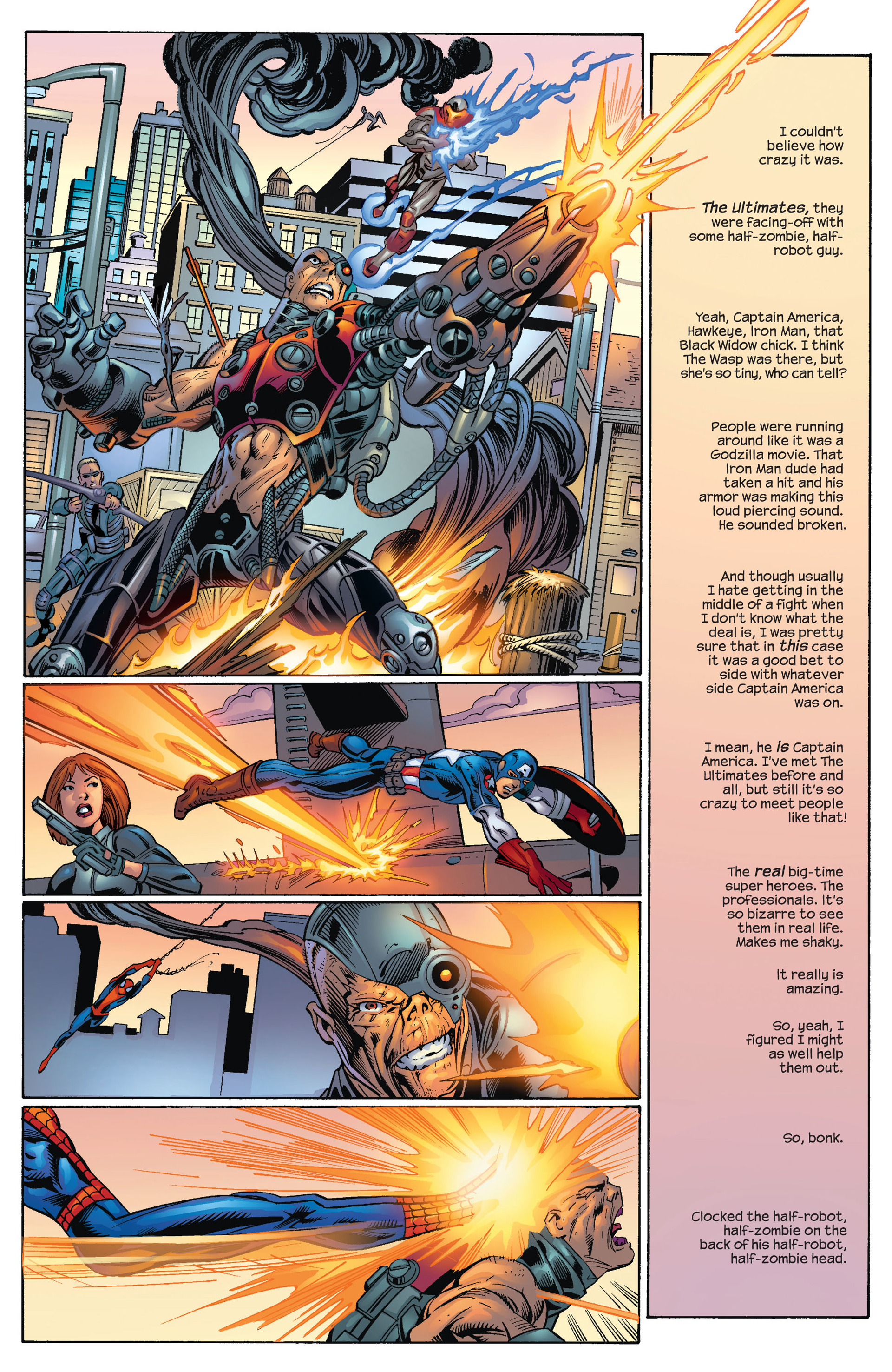 Read online Ultimate Spider-Man (2000) comic -  Issue #70 - 7