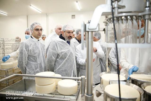 Nueva planta lechera en Ereván