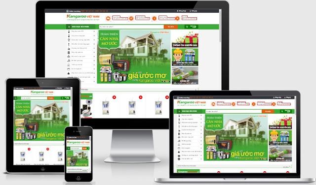 Templates blogspot bán hàng điện máy dân dụng