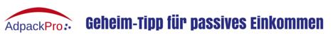 Adpackpro > Tipp für Online-Verdienst