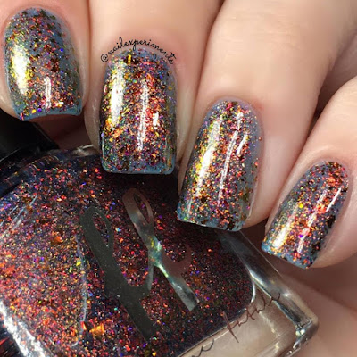 Femme Fatale Fire Lily swatch from the Fire Lily collection