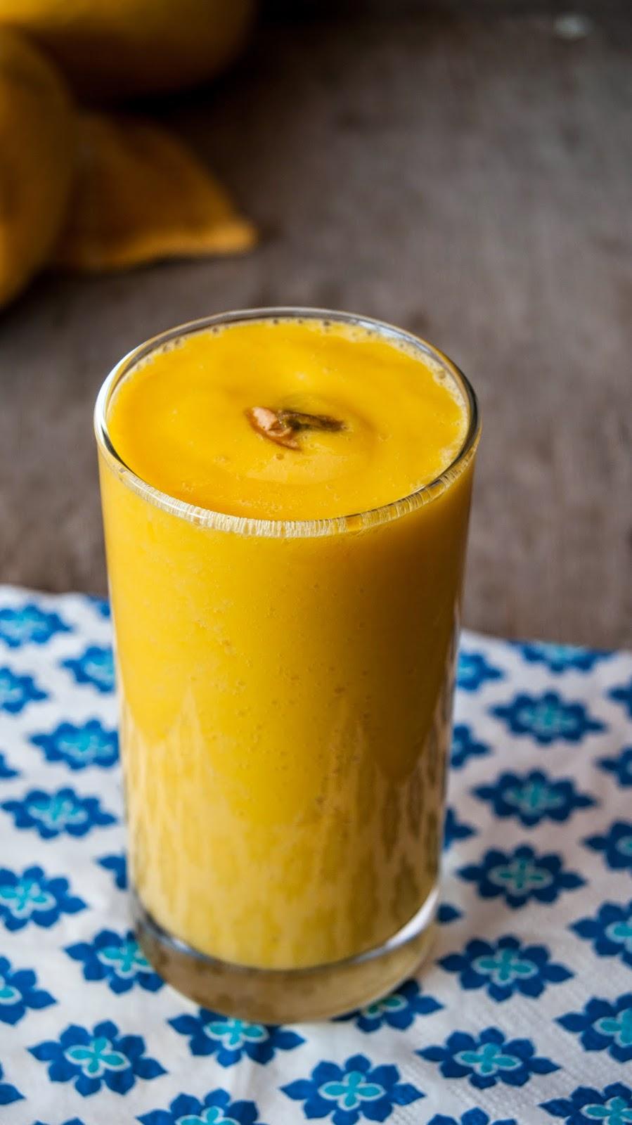 always hungry mango lassi fresh mango and yogurt smoothie