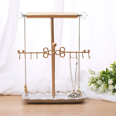 Shop for Metal Jewelry Display Jewelry Stand Hanger at Nile Corp