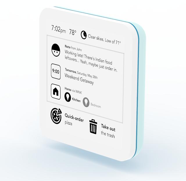 SeeNote | Das Kontrollzentrum für dein Smart Home als ein digitaler Notizzettel für die Wohnungstüre