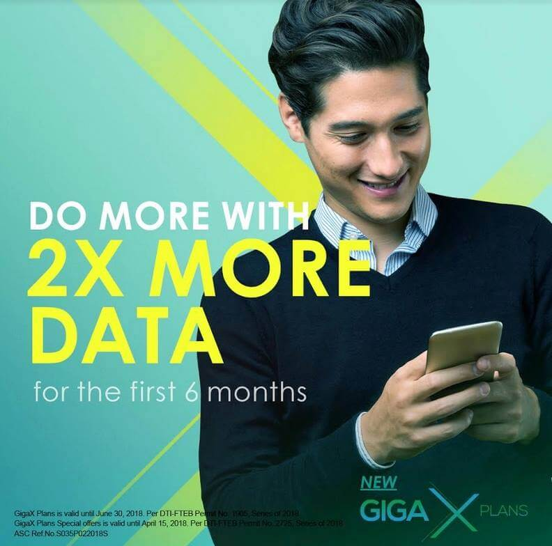 Smart Unveils GigaX Postpaid Plans; Comes with More Data, Starts at Plan 599