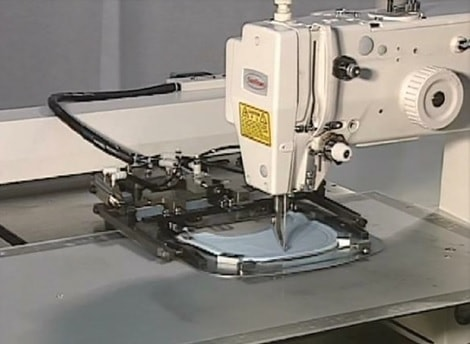 Profile stitching machine